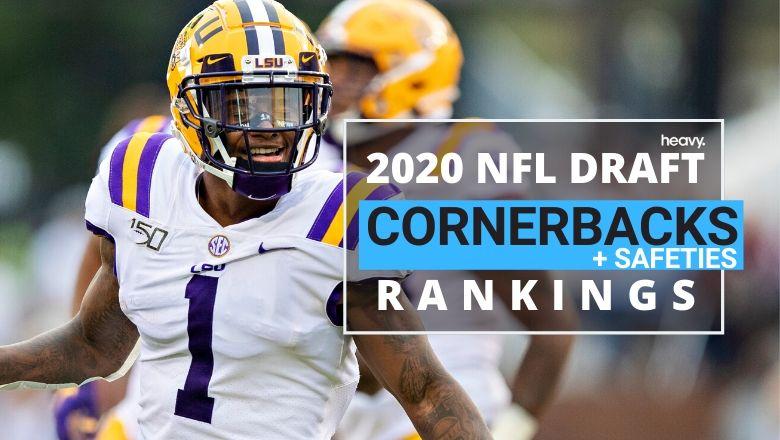 2020 NFL Draft Defensive Back Rankings: LSU's Kristian Fulton