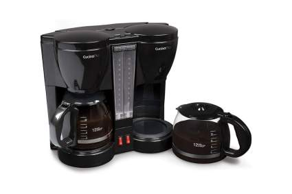 CucinaPro Double Coffee Brewer Station Dual Coffee Maker