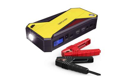 DBPOWER 600A Peak 18000mAh Portable Car Jump Starter