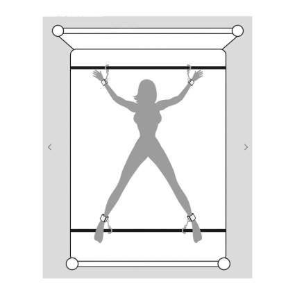 Illustration of under the bed restraints