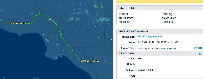 Kobe Bryant Plane Crash