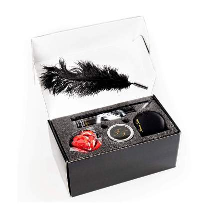 Black box of massage kit