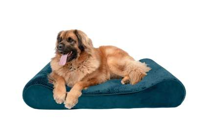 Furhaven Orthopedic Ergonomic Luxe Lounger Dog Bed