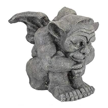 gray gargoyle statue