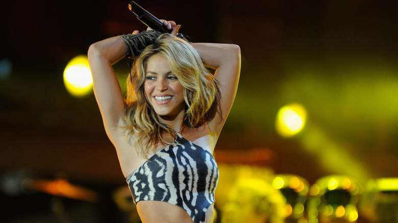 Shakira performs for the Super Bowl Halftime Show