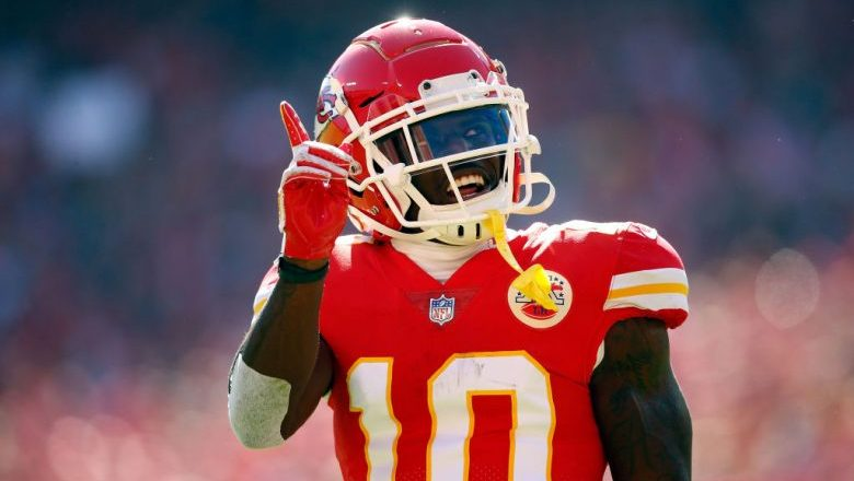 Tyreek Hill attended Oklahoma State, Garden City Community College, and West Alabama