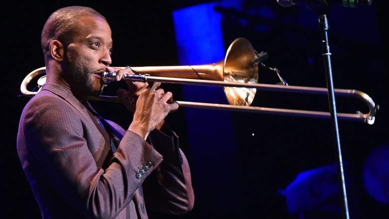 Trombone Shorty, aka Troy Andrews