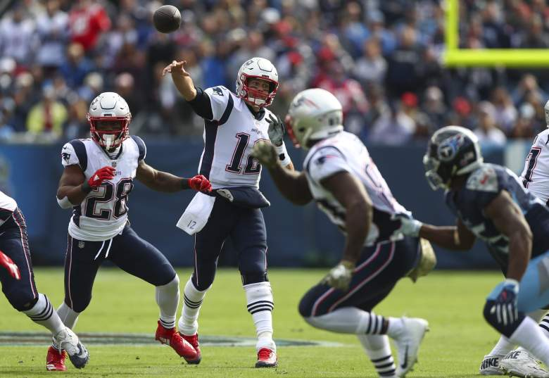 New England Patriots v Tennessee Titans Watch