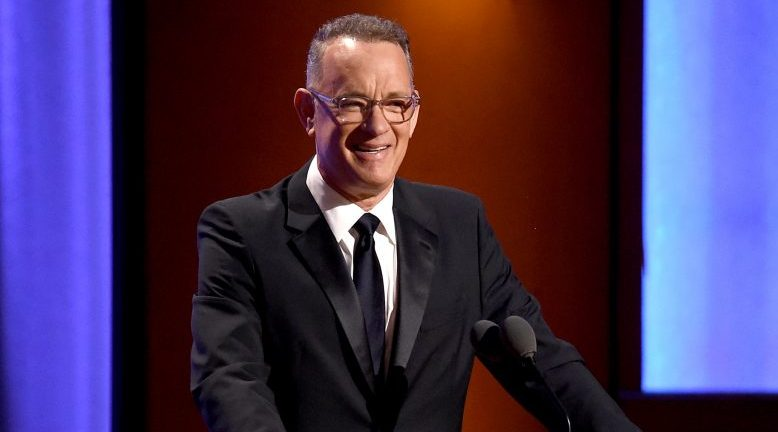 Tom Hanks speaks onstage during the Academy of Motion Picture Arts and Sciences' 10th annual Governors Awards at The Ray Dolby Ballroom at Hollywood & Highland Center on November 18, 2018 in Hollywood, California.