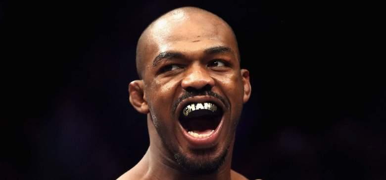 UFC light heavyweight champ Jon Jones