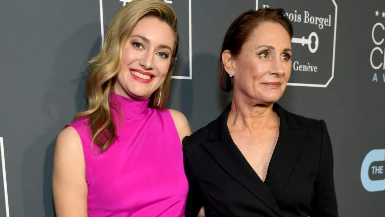 Zoe Perry and Laurie Metcalf at the Critics Choice Awards