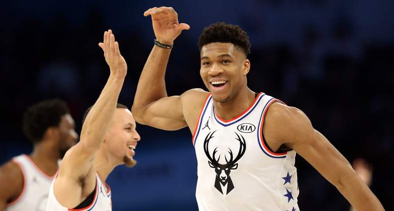 Stephen Curry, Giannis Antetokounmpo ... teammates?