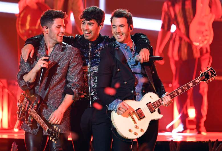 Nick, Joe, and Kevin Jonas
