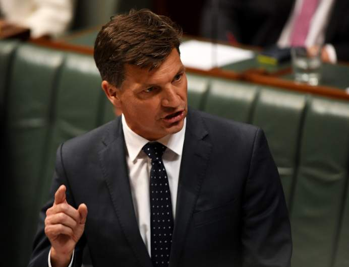Energy Minister in Australia Angus Taylor