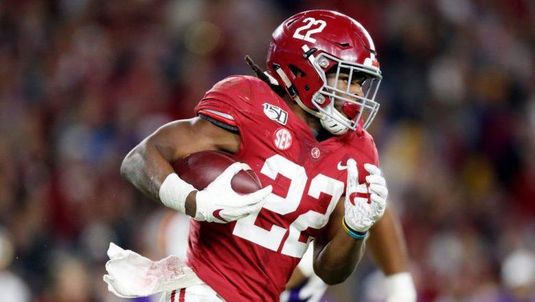 Najee Harris Alabama 2020 NFL Draft Projections