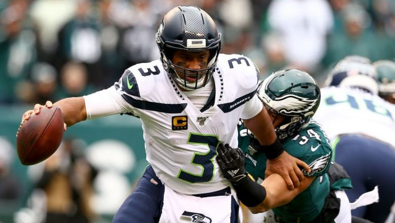 Russell Wilson DraftKings Showdown Playoffs Wild Card Seahawks vs. Eagles