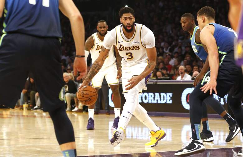 Dallas Mavericks v Los Angeles Lakers watch
