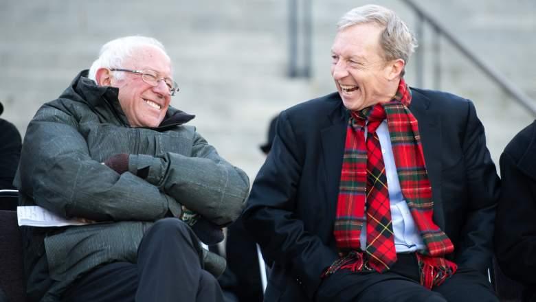 Bernie Sanders and Tom Steyer