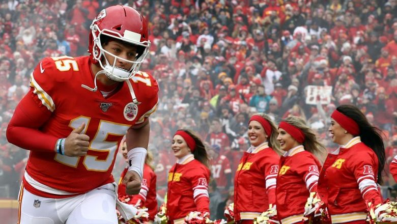 Patrick Mahomes AFC Playoffs Schedule