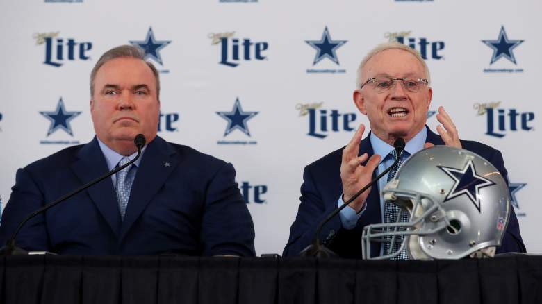 Cowboys HC Mike McCarthy, owner Jerry Jones
