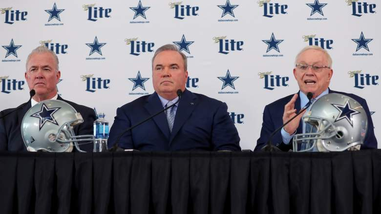 Stephen Jones, Mike McCarthy, Jerry Jones
