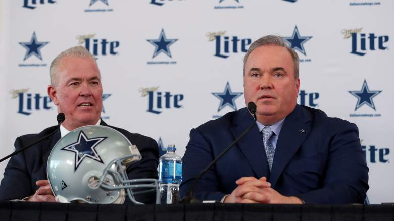 Cowboys VP Stephen Jones, HC Mike McCarthy