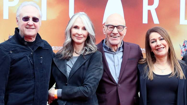 Brent Spiner Marina Sirtis Patrick Stewart Star Trek: Picard premiere