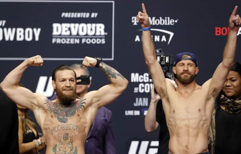 McGregor v Cowboy watch