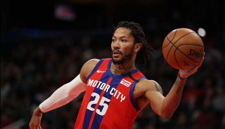Derrick Rose, Pistons trade bait?