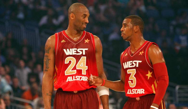 Kobe Bryant and Chris Paul, All-Star teammates, nearly Lakers teammates