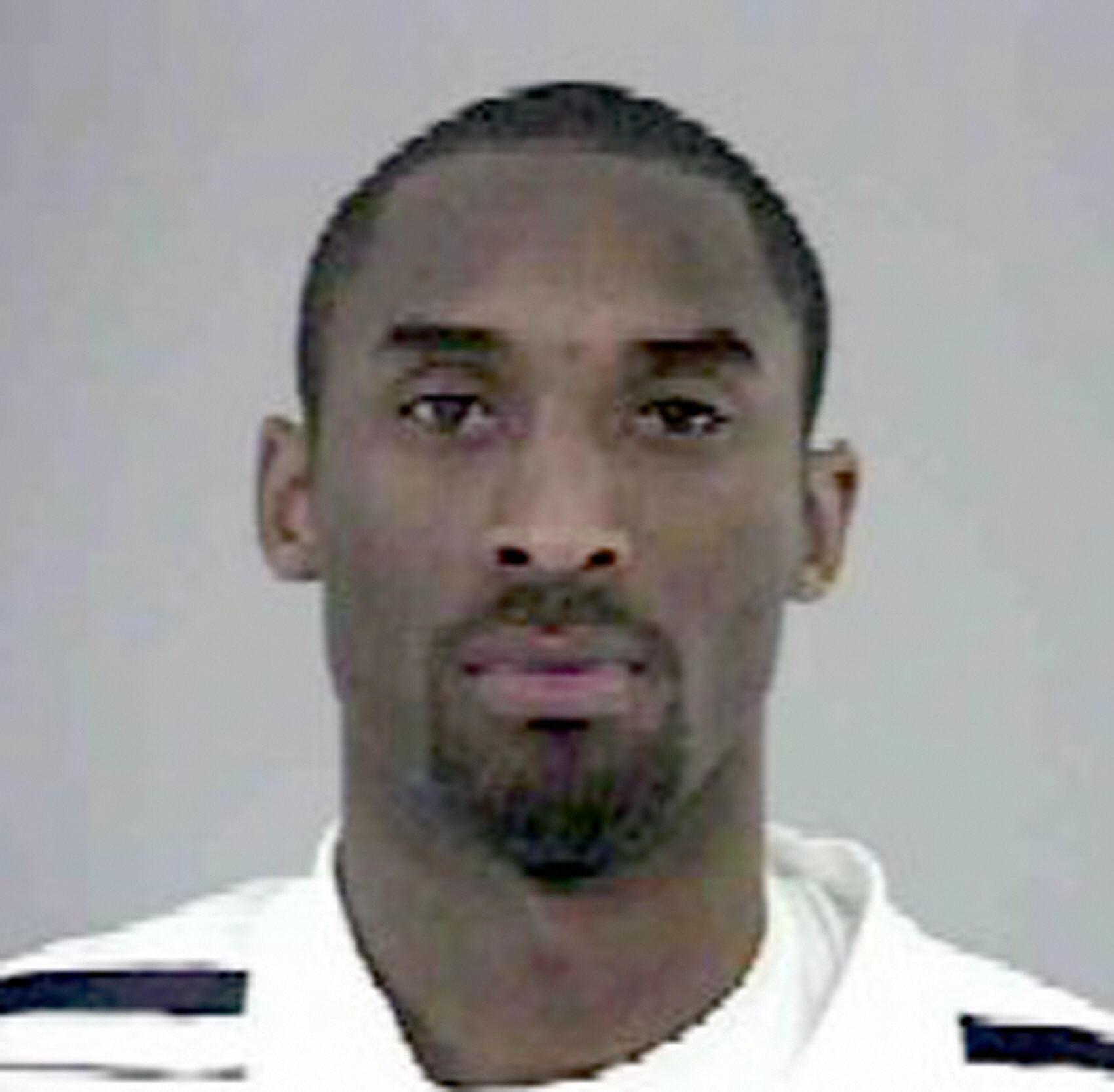 Kobe Bryant Mugshot