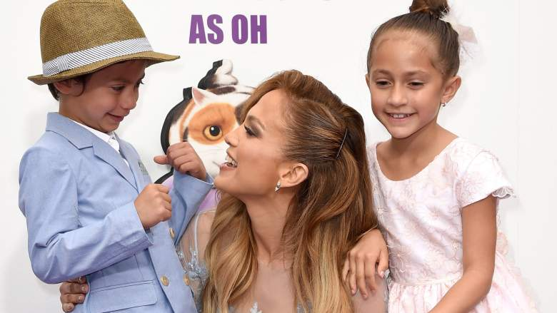 Jennifer Lopez kids Max and Emme