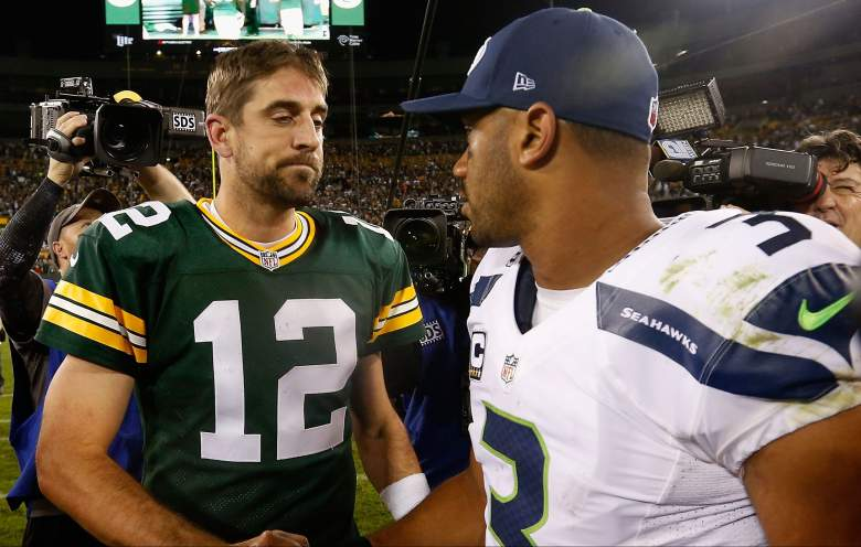 Seattle Seahawks v Green Bay Packers watch