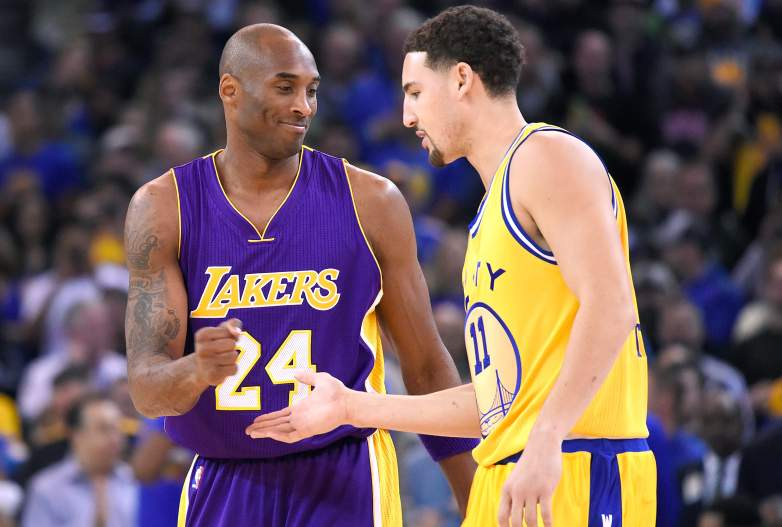 Kobe Bryant and Klay Thompson