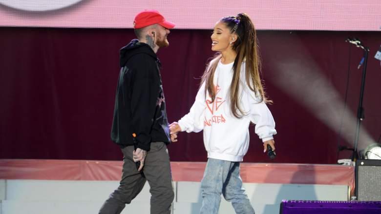 Ariana Grande made a vocal cameo on Mac Millers last album