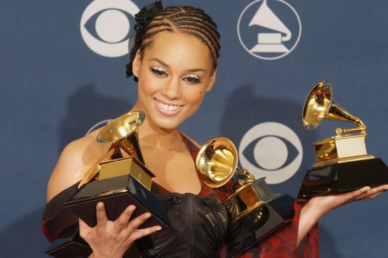 Alicia Keys has won 15 Grammys