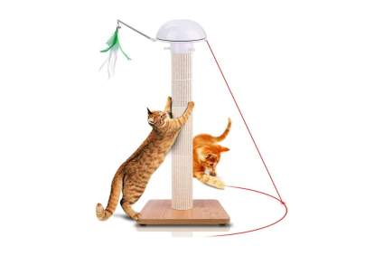 Huicocy Interactive Laser Cat Scratching Post