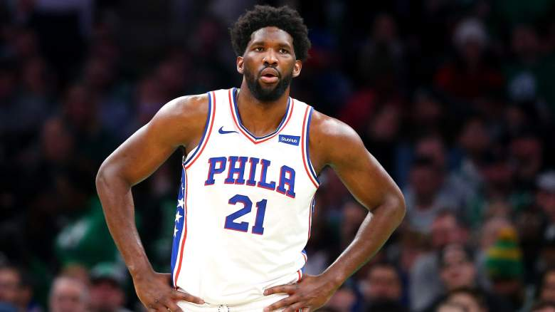 Joel Embiid Sixers Injury