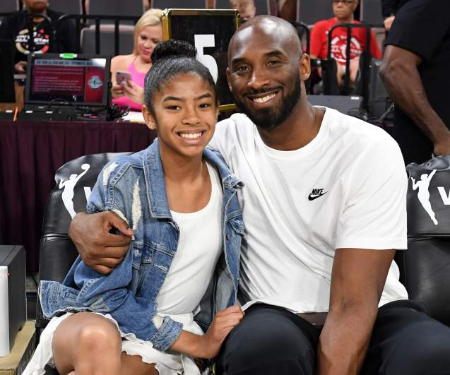 Lebron James Son Bronny Honors Kobe Bryant Gigi Heavy Com
