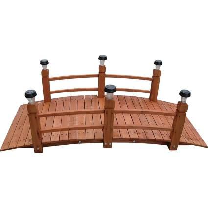 Kotulas 5' Solar Pillar Garden Bridge
