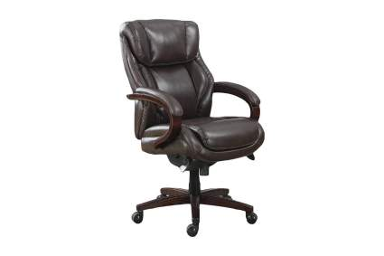 Best Comfortable Office Chair: La-Z-Boy Bellamy Executive Leather Office Chair