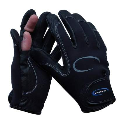 LURESHOP.EU Stretch Neoprene Fishing Gloves