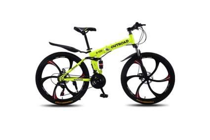 folding mountain bike