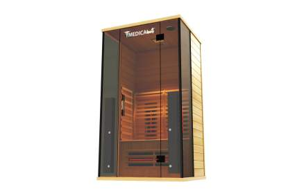 Medical Sauna 4 Full Spectrum 2-Person Indoor Infrared Sauna Spa