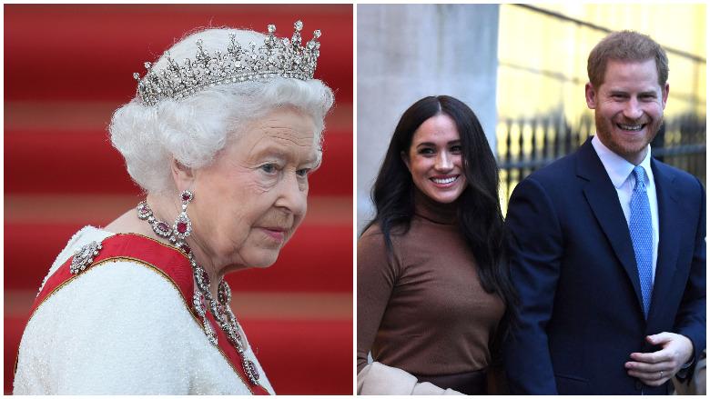 megxit queen megan harry