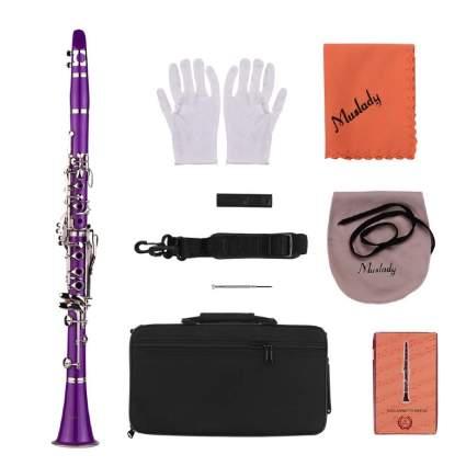 Muslady 17-Key Clarinet b Flat