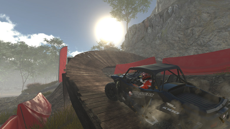Overpass Racing Game