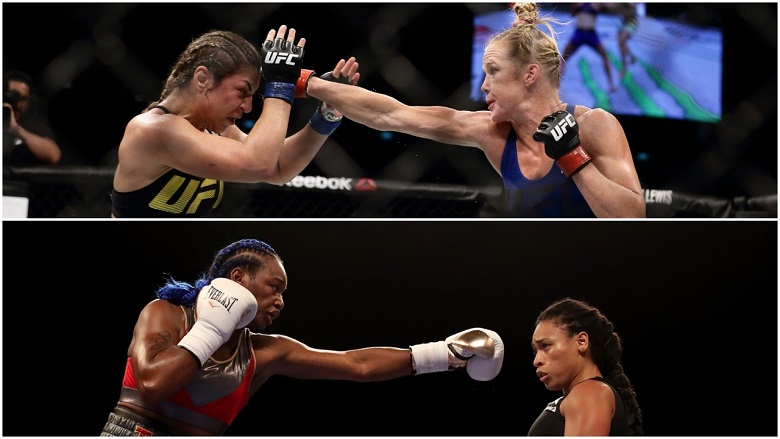 Holy Holm and Claressa Shields