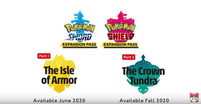 Pokemon Sword & Shield DLC Release Date