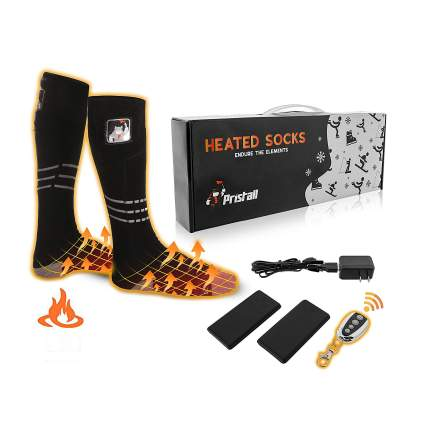 Pristall Remote Control Heated Socks